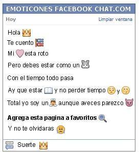 Como Poner Un Emoticon Corona En Facebook