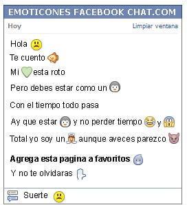 Como Poner Un Emoticon Triste En Facebook